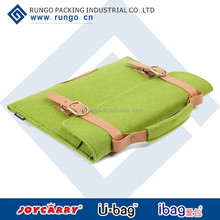2014 latest felt environmental protection laptop bag