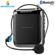 NEWGOOD powerful UHF wireless professional voice amplifier with portable PA system