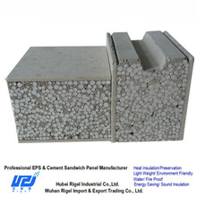 Cheap construction materials precast concrete fence wall paneling