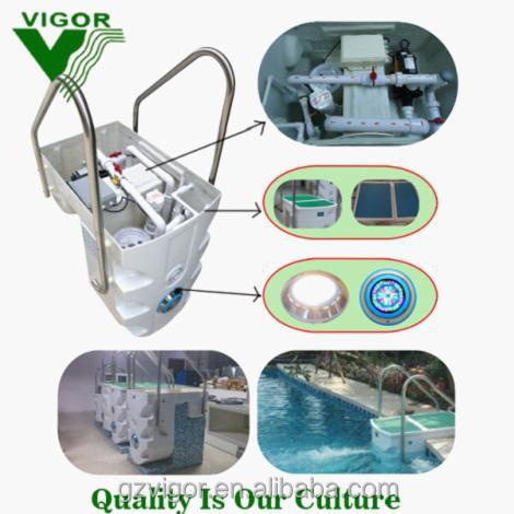 Factory new model pipeless swimming pool integrated filtration systems