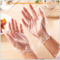 Household Disposable Gloves, Hot Sale Cleaning Plastic PE Gloves