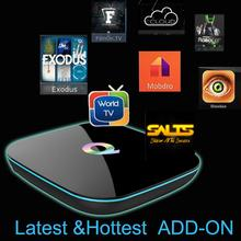 New Chip Q-BOX 2GB/16GB Amlogic S905 Quad Core Andorid 5.1 Q BOX TV BOX 2.4GHz/5G WiFi BT 4.0 Q box