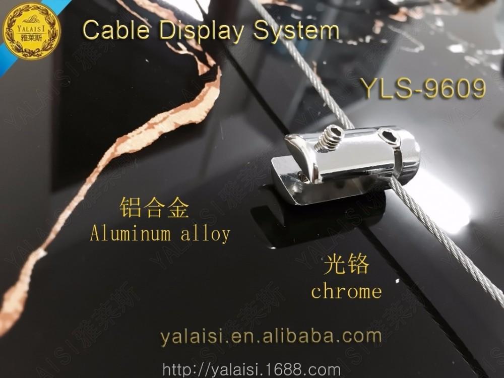 Kabel display system serie: aluminium-legierung bilderrahmen seite ...
