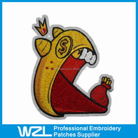 New Product! Fashion Cartoon Embroidered Chenille Patches for Kids Garments