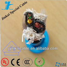 DJYPVP Electrical Apparatus computer power cable PE Insulated PVC sheathed Copper Wire Braid shield type