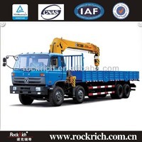 2013 Top Selling Dongfeng 8x4 Truck Crane With 10T Lifting Weight