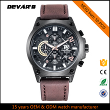 New Arrival Cool Minimal Leather Thin Watch Factory Price Wholesale Watch