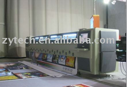 SPT polaris Large format solvent printer 5m for outdoor printing upto the high speed and high resolution multicolor