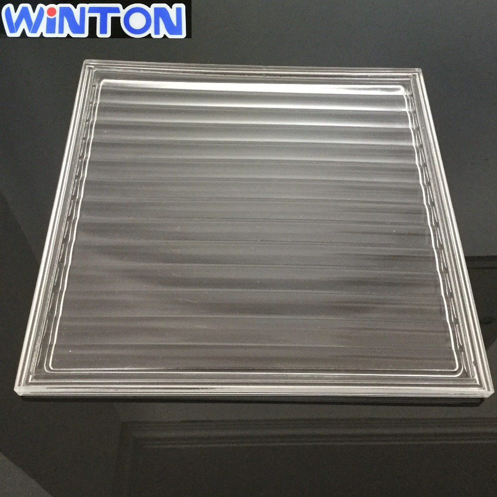 High temperature resistant corrugated glass