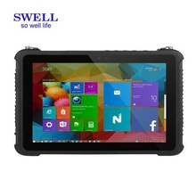8Inch all in one dual core ip68 industrial android rugged tablet with barcode scanner with cradle