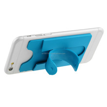 nice silicone card holder for phone