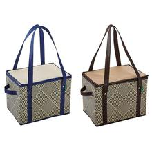 hot sell Large insulated beer cooler bag Shopping Grocery Bag with zipper top
