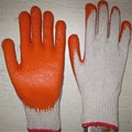 MHR latex coated 10guage gloves smooth finished For American or Korea etc