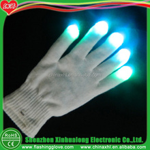 Dancing LED Flashing Safety Work Gloves