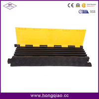 Ultra-portable 5-Channel Heavy Duty Rubber Cable Cover