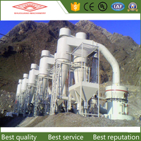 World leading dolomite grinding mill with fine output powder