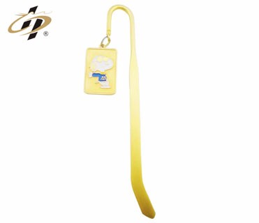 custom made 3d gold plated bookmarks