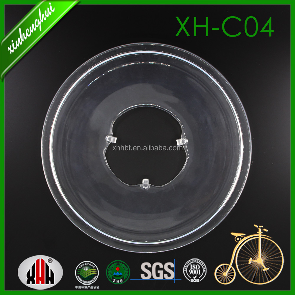 XH-C04 bike or bicycle's spoke or freewheel protector, plate in transparent with four claw