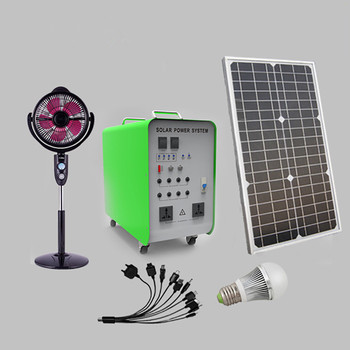 1000w Complete solar system for home electricity