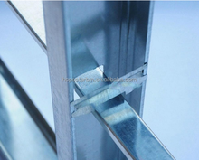 light steel keel wall partition galvanized steel c channel metal studs and tracks size