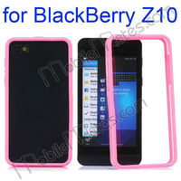 Wholesale Shock-proof PC+TPU Bumper Frame Case for BlackBerry Z10
