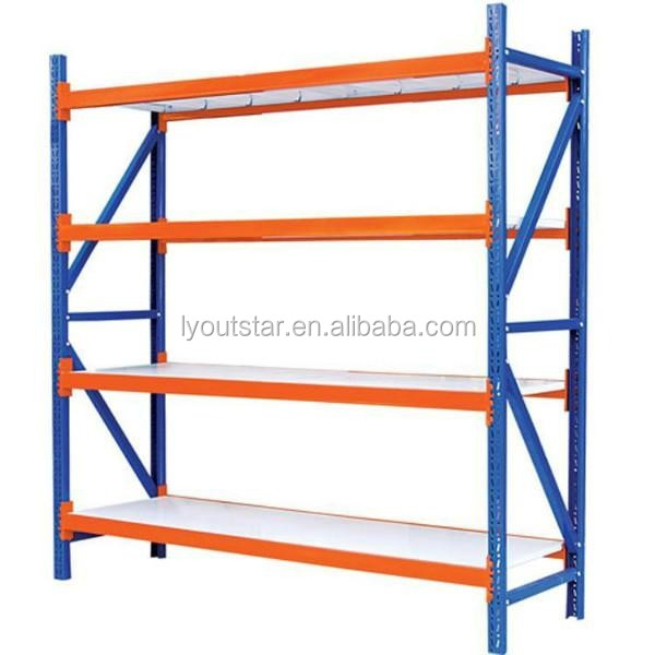 Adjustable Heavy Duty Warehouse Steel Pallet Rack Portable In Stacking