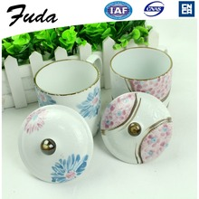 Porcelain Ceramic Type China Porcelain Coffee Mugs With Lid
