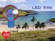 2012 newest case led fan light