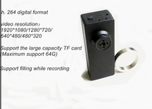 Charging While Recording magic ring AVI /MOV format h. 264 720P 1080P digital mini button camera