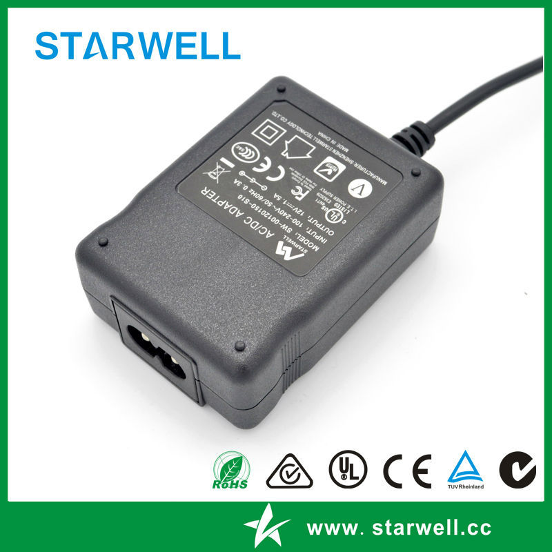 Universal High Quality AC/DC Adapters 6V Desktop Switching Power Adapter With CE Certification