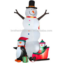 XDCA04 christmas decoration inflatable penguin