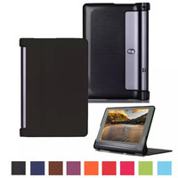 Luxury Flip Stand Leather case for Lenovo Tab 2 X30F/Yoga Tablet 3 X90F