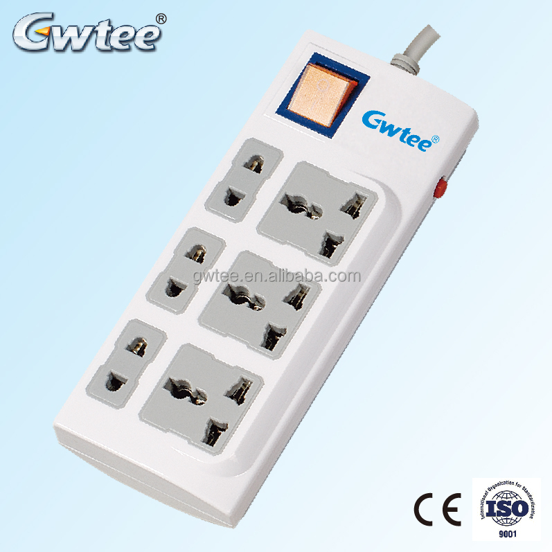 Top Selling round 6 outlet GT-N61 custom design power socket