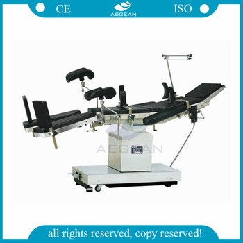 Best selling!!!AG-OT021 CE ISO approved surgical table for operating theatre equipment