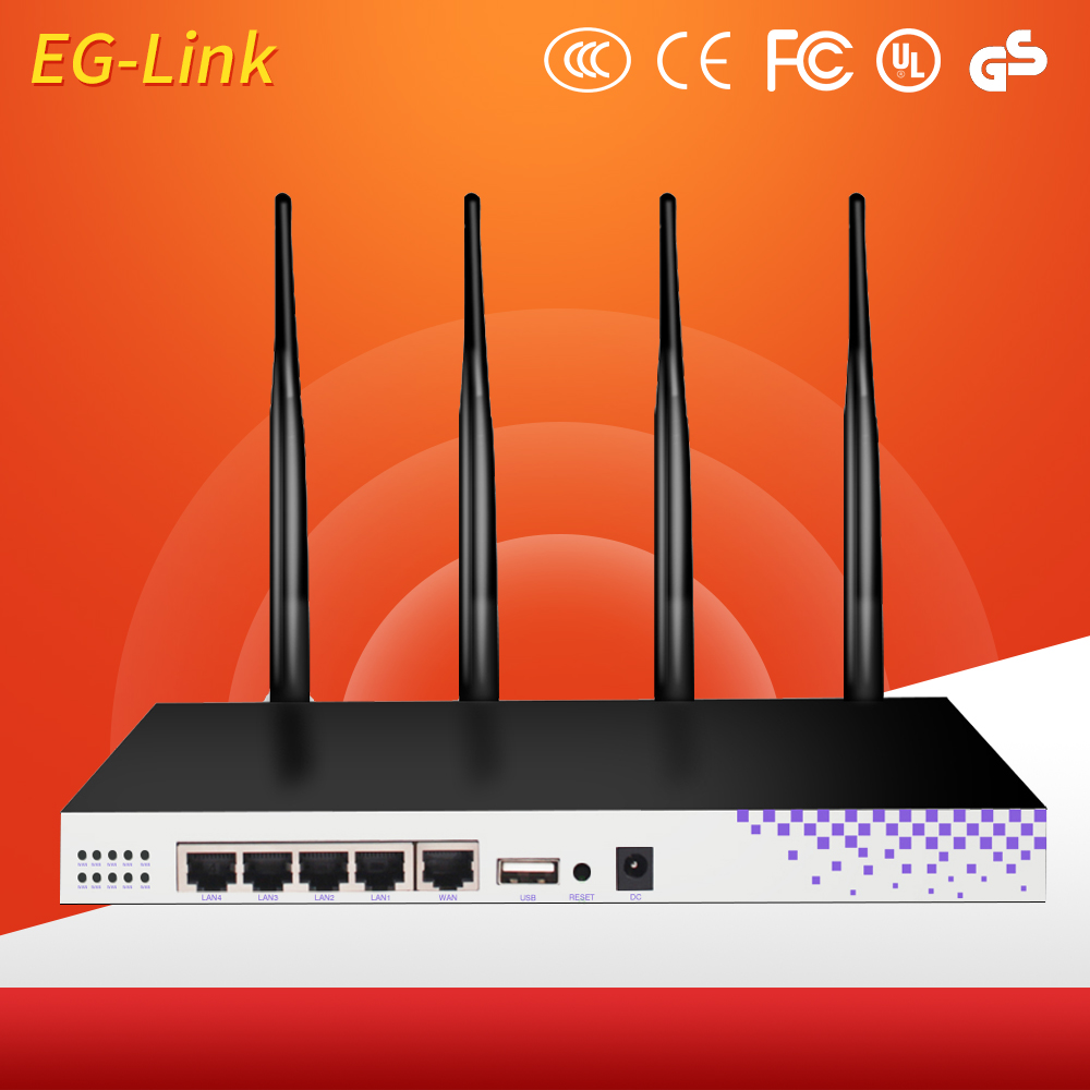 Openwrt Networks Dual Band 1200Mbps Gigabit Wireless Router
