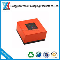 Hot sale packaging watch boxes, new design box for vogue watch!
