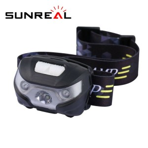 High power headlamps hunting headlight camping head torch light led head lamp with usb charge