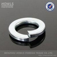 High quality carbon steel din127b spring washer