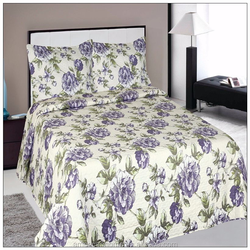 Alibaba sale home goods thin quilted bedspreads