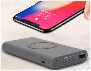 2018 New Products power bank receiver wireless mobile charger mini project with low price