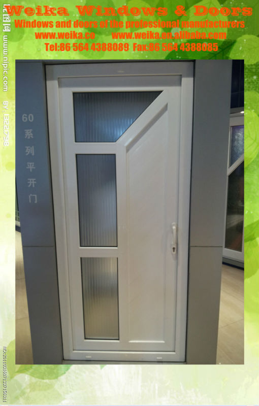 good quality modern pvc toilet door