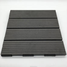 DIY wpc decking tiles sauna board for outdoor decking