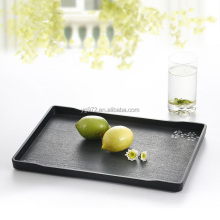 Japanese design print melamine trays