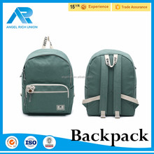 Outdoor back to school fashion lady mini canvas backpack cute