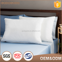 Wholesale Factory Price Health Hold Bed Neck Rest 100% Polyester Microfiber Fiber Hospital Pillow
