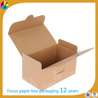 Beauty Cosmetics Brown Corrugated Transport Box