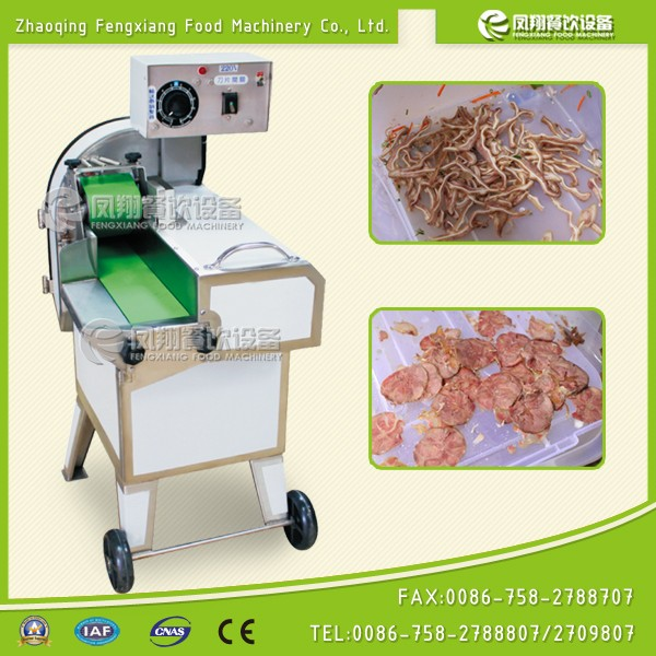 Cooked Meat Pieces Cutter Smoked Pork Cutter Preserved Meat Cutting Machine Bacon Cutter