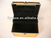 high quality lighting makeup case with stand and fireproof hard shell