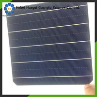china price per watt mono and poly solar panels/ panel solar with high cost performance for Africa