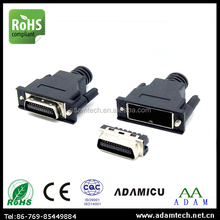 MDR Connector(14Pin,20Pin,26Pin,36Pin,50Pin,68Pin,100Pin)1.27mm Pitch